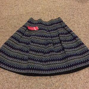 NWT S Xhilaration Skater Skirt